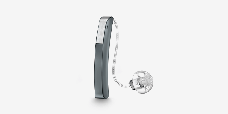 Slim Receiver-In-Canal hearing aid