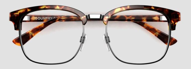 Clubmaster glasses