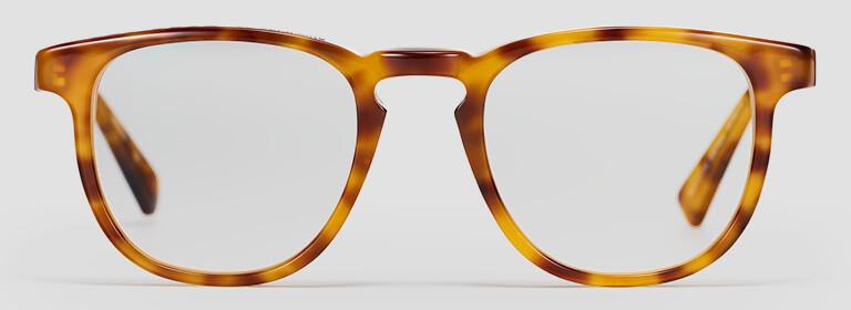 Tortoise-shell glasses