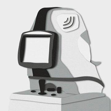 Papercraft eye
