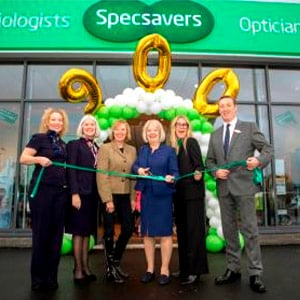 900th UK and Ireland Specsavers store opened in Dalgety Bay, Scotland